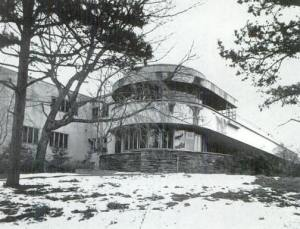 The 1940 RJ Reynolds residence, destroyed in 1978.