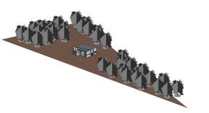 Site plan by Ian Price