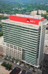 Red Hat's headquarters in downtown Raleigh