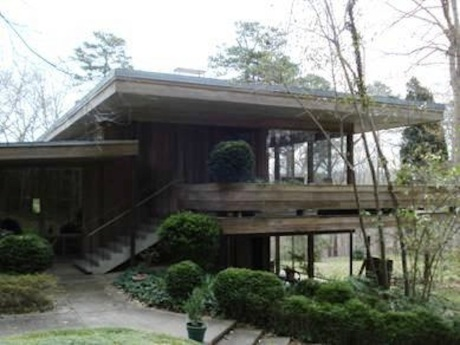 James Taylor's childhood home in Chapel Hill will be open for tours on June 4. (Courtesy of NC Modernist Houses)