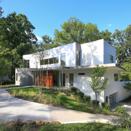 One of this year's nominees: Hermitage Court by Szostak Design, Inc.