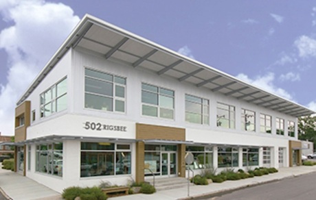 BuildSense's uber-green headquarters in downtown Durham.