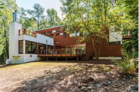 The Dwell Home goes up for auction in Chatham County on Tuesday. AuctionFirst Inc.